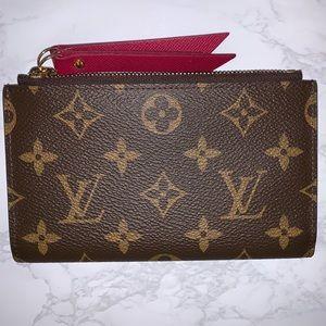 Authentic Louis Vuitton Adele compact wallet